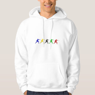 Epee Fencers Fencing Mens Athlete Womens Sports Hoodie