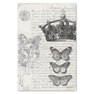 Ephemera Collage Tissue Paper