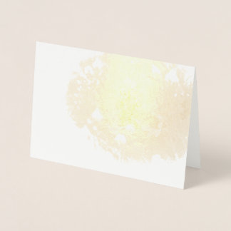 Ephemeral Bluebonnet Foil Card