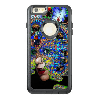 EPHEMERAL/ WOMAN WITH COLORFUL FRACTAL MASK Blue OtterBox iPhone 6/6s Plus Case