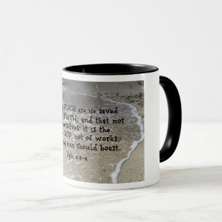 Ephesians 2:8-9 For by grace are ye saved through Mug
