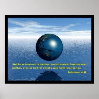 Ephesians 4:32 Poster