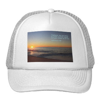 Ephesians 5:25  Sunrise Trucker Hat