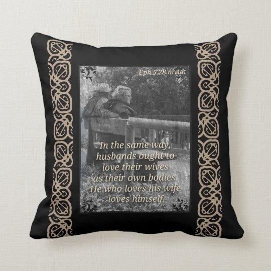Ephesians 5:28 cushion