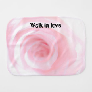 Ephesians Chapter 5 And walk in love Burp Cloth