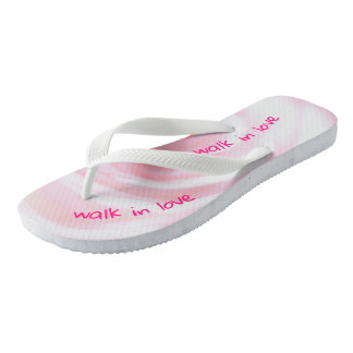 Ephesians Chapter 5 And walk in love Flip Flops