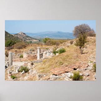 Ephesus in Turkey poster