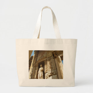 Ephesus Turkey - Celsius library at Ephesus Large Tote Bag