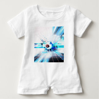 EPIC ABSTRACT d1s3 Baby Romper