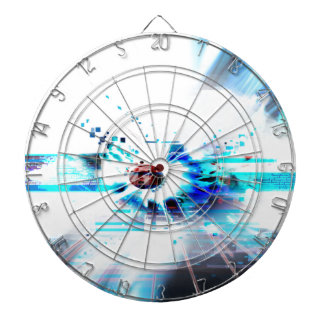 EPIC ABSTRACT d1s3 Dartboard