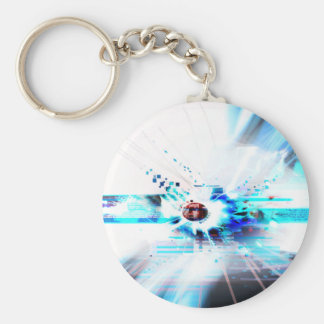 EPIC ABSTRACT d1s3 Keychain