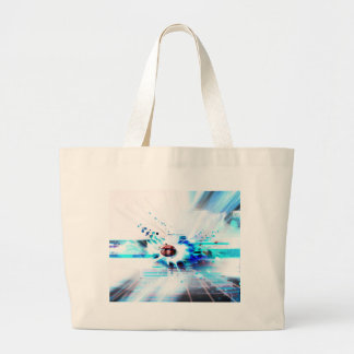 EPIC ABSTRACT d1s3 Large Tote Bag