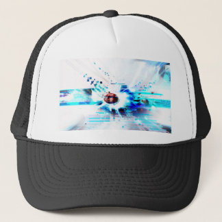 EPIC ABSTRACT d1s3 Trucker Hat