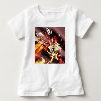 EPIC ABSTRACT d3s3 Baby Romper