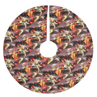 EPIC ABSTRACT d3s3 Brushed Polyester Tree Skirt