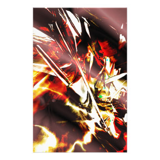 EPIC ABSTRACT d3s3 Stationery