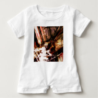 EPIC ABSTRACT d4s3 Baby Romper