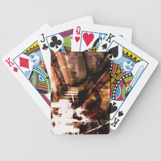EPIC ABSTRACT d4s3 Bicycle Playing Cards