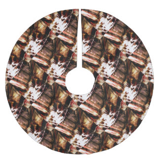 EPIC ABSTRACT d4s3 Brushed Polyester Tree Skirt