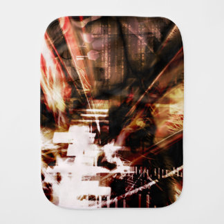 EPIC ABSTRACT d4s3 Burp Cloth