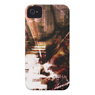 EPIC ABSTRACT d4s3 iPhone 4 Cover