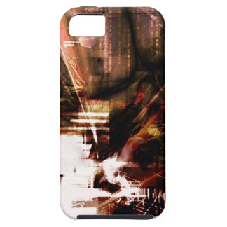 EPIC ABSTRACT d4s3 iPhone 5 Covers