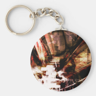 EPIC ABSTRACT d4s3 Keychain