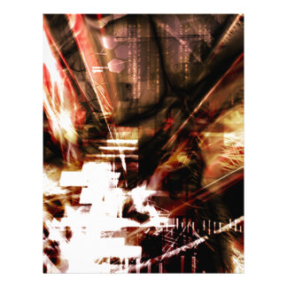 EPIC ABSTRACT d4s3 Personalized Letterhead