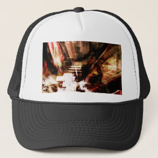 EPIC ABSTRACT d4s3 Trucker Hat