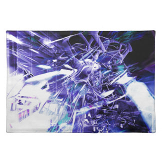 EPIC ABSTRACT d5s3 Placemat