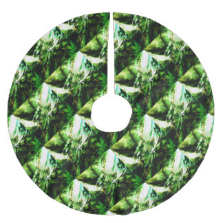 EPIC ABSTRACT d6s3 Brushed Polyester Tree Skirt
