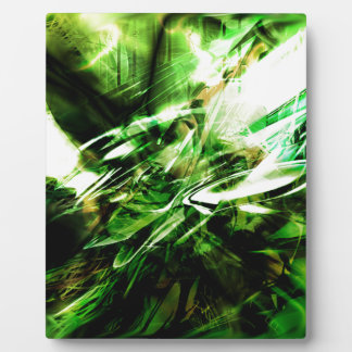 EPIC ABSTRACT d6s3 Plaque