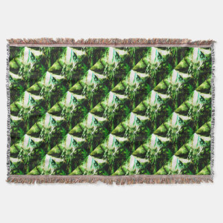 EPIC ABSTRACT d6s3 Throw Blanket