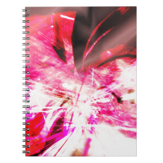 EPIC ABSTRACT d7s3 Spiral Notebook