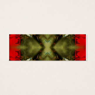 EPIC ABSTRACT ST1 TEN MINI BUSINESS CARD