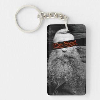 Epic beard keychain