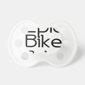 Epic Bike Baby Pacifier
