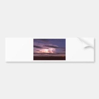 Epic_Cloud_To_Cloud_Lightning_Storm Bumper Sticker