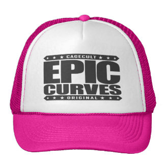 EPIC CURVES - Savage Amazonian Warrior Physique Trucker Hat