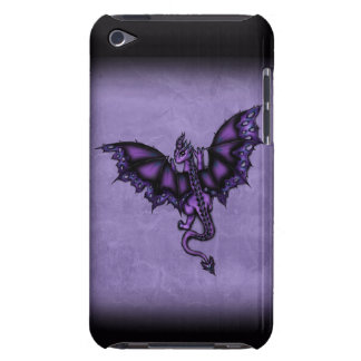 epic dragon purple barely there iPod cases