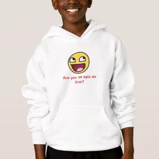 epic face hoodie