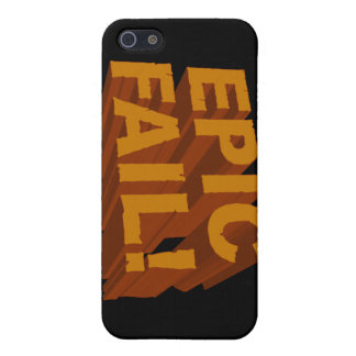 Epic Fail! 3D iPhone 4 Speck Case Case For iPhone 5/5S