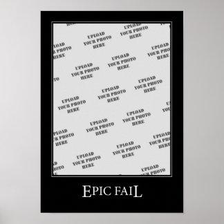 Epic Fail DeMotivational Template Poster