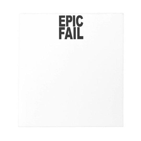 Epic Fail Notepad