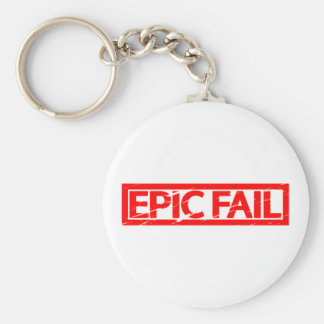 Epic Fail Stamp Keychain
