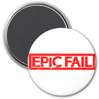 Epic Fail Stamp Magnet
