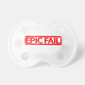 Epic Fail Stamp Pacifier