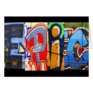Epic Graffiti Birthday Card
