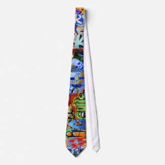 EPIC Graffiti Trains tie