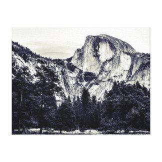 Epic Half Dome Canvas Print